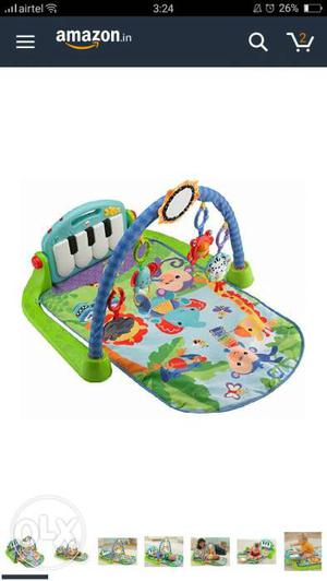 Fisher price playmat and gym