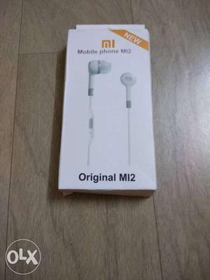 Original MI Earphones with Mic (Stereo