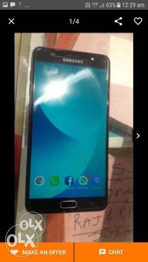 Samsung J7 Max brand new condition not even a
