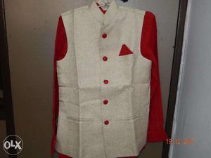 Stylish wear for boy waist coat, shirt, pant