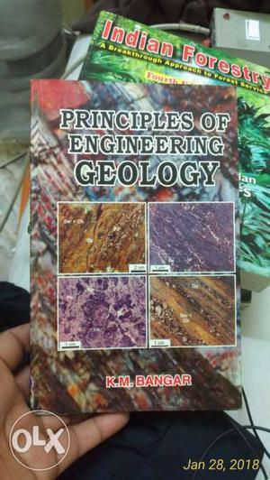 Principles Of Engineering Geology By K.M. Bangar Book