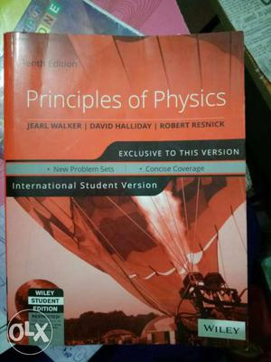 Principles Of Physics By Wiley Book