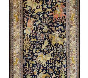 Kashmir Silk Carpets and Rugs from India New Delhi