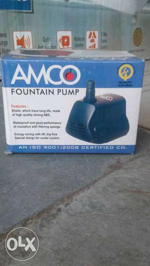 New Fresh Submersible pump for cooler & aaqurium