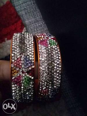 New diamond bangle..(jodhpori kangan)..