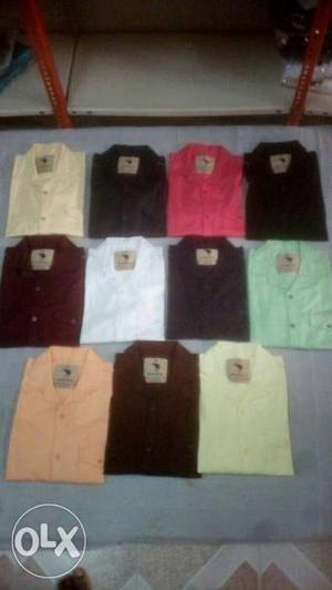 Original export surplus shirts at very low price