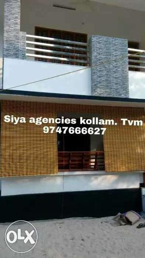 Bamboo blinds.available all type kollam.tvm