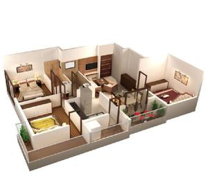 "Available 2BHK Flats for Sale, ""SKYTOWN GARCIA"" HUBLI"