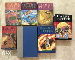 Harry Potter complete book set of 7