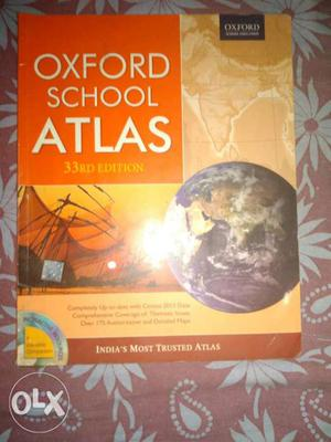 Oxford school Atlas 33rf Edition book with cd