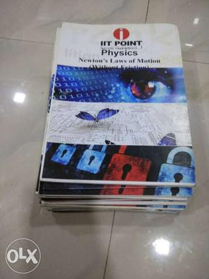 Physics full set of booklets for iit jee