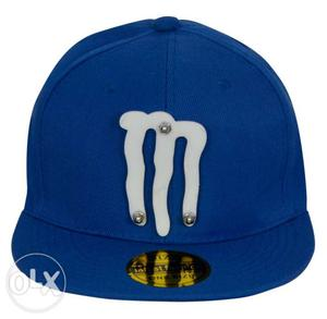 Blue And White Monster Energy Fitted Cap
