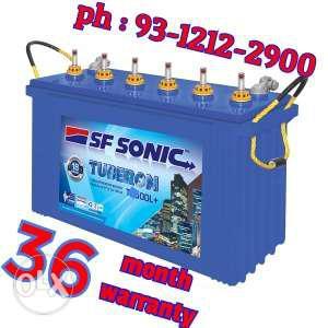 Exide Tubular 150 ah SF Sonic inverter battery 36 month