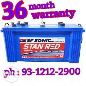 Exide Tubular SF Sonic inverter battery 36 month warranty