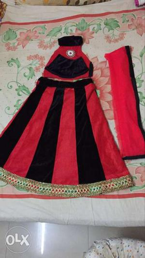 Ghaghara,choli,dupatta for 5 to 6 years old baby