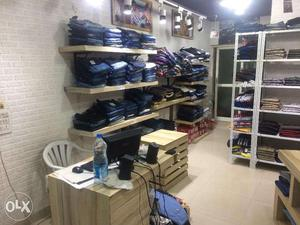 Good Running Men`s Wear Shop at Prime Location in Suchitra