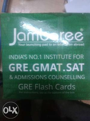 Jamboree Flash Cards for GRE/SAT/GMAT