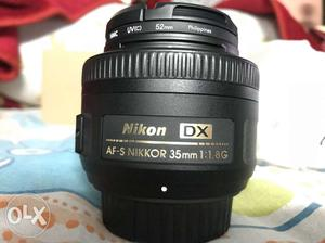 Nikon 35mm Lens unused only 1 month old with