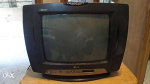 "Potable TV LG Golden Eye 14"" Very Good"
