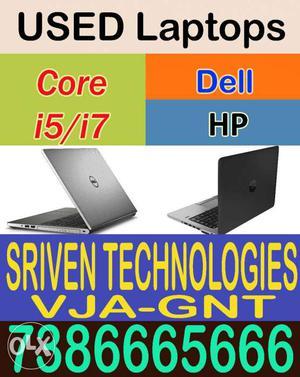 Pre-Owned Laptops Mela Core2Duo, i3, i5, i7 Sriven Chanti