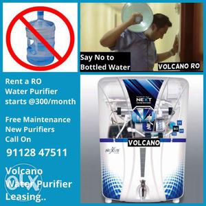 Rent 5 stage water purifier/ RO water