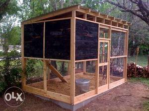 Aviary for all kind of pets (metal and wood)