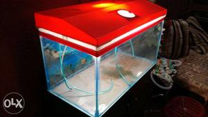 Fish box red colour full New Condition 3 month old