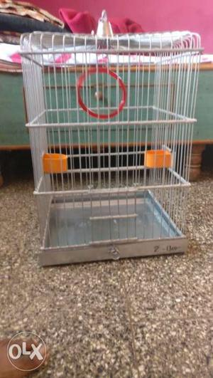Small Stainless Steel Birdcage