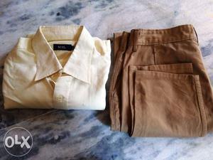 Formal Office Shirt Pant Combo Set for Stylish Men Fashion