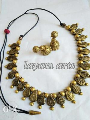 Terracotta jewellery collection