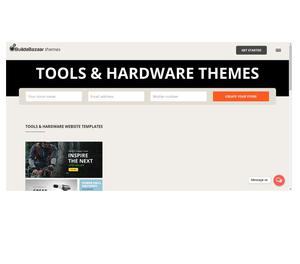 Free Tools & Hardware Store E-Commerce Template Gandhinagar