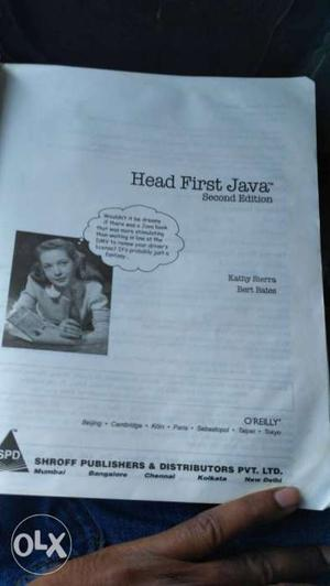 Head first java book for 100