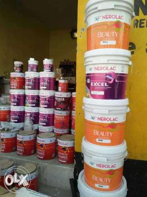We do paint works Wall putty pop. on daily wages rate