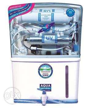 Aqua Ro water purifier it's new sedimat carbon uv