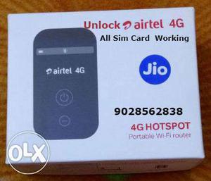 Unlock ZTE MF90 Airtel 4G Hotspot