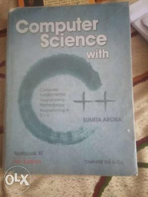 Computer Science With C++ Book By Sumira Arora