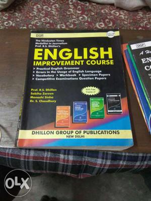 DGP English improvmnt course nd full set with