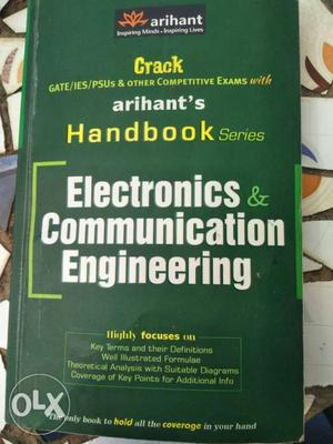 Handbook for gate exam for ece engineering