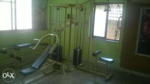 Multy station Gym want to sale in Panvel. Eight