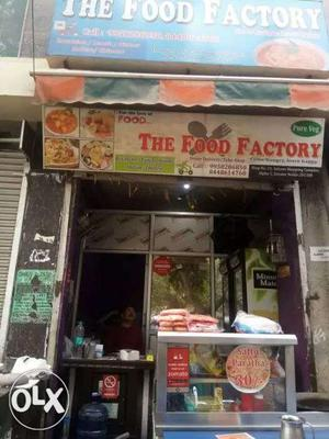 The Food Factory Store Signage