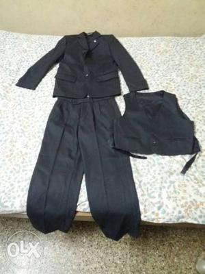 Black blazer,suit for children upto11 made in qatar