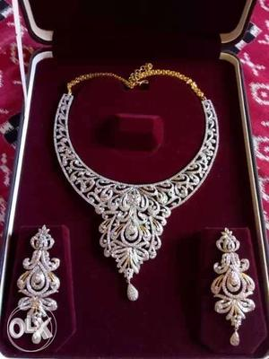 Brand new silver and American diamond jewellery