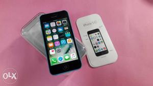 Iphone 5c Device Box And Charger 16gb Internal 4g