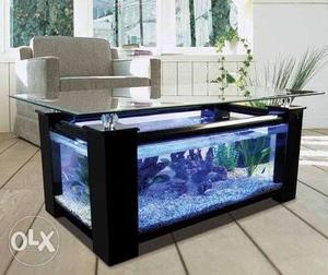 Aquarium centre table if u want something amazing