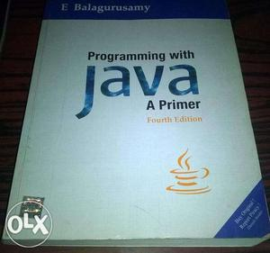 Programming with Java. 4th edition.