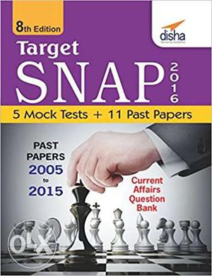 Target SNAP Past Papers  to 15 + 5 Mock Tests Paperback
