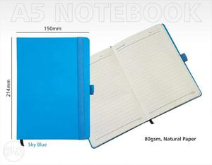 Unpacked Brand new Natural Paper A5 executive Notebook