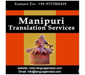High Quality Manipuri Translation Service Company Gurgaon