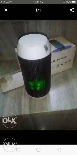 White And Black JBL Bluetooth Speaker Screenshot