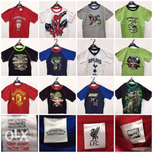 Branded Kids Garments For Sale